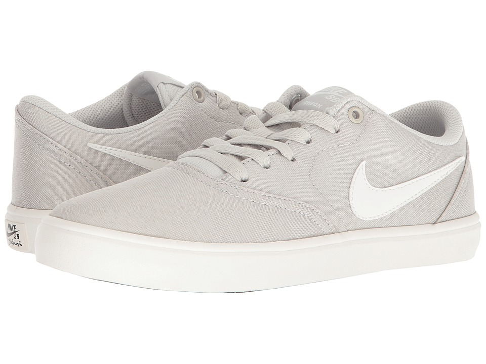 Nike SB Check Solarsoft Canvas Premium (Light Bone/Ivory/White) Women's Skate Shoes