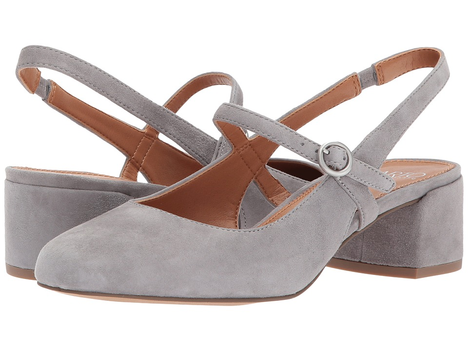 Franco Sarto Hutton (Estate Grey Kid Suede) Women's Sling...