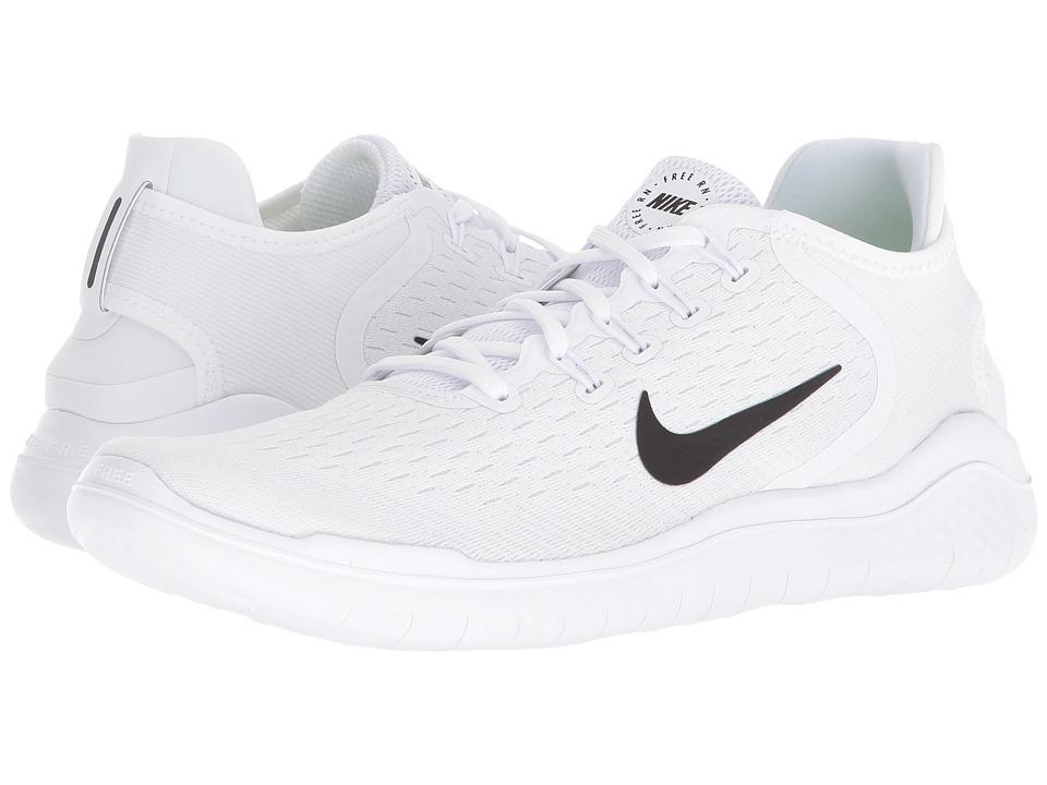 Nike Free RN 2018 (White/Black) Men's Running Shoes