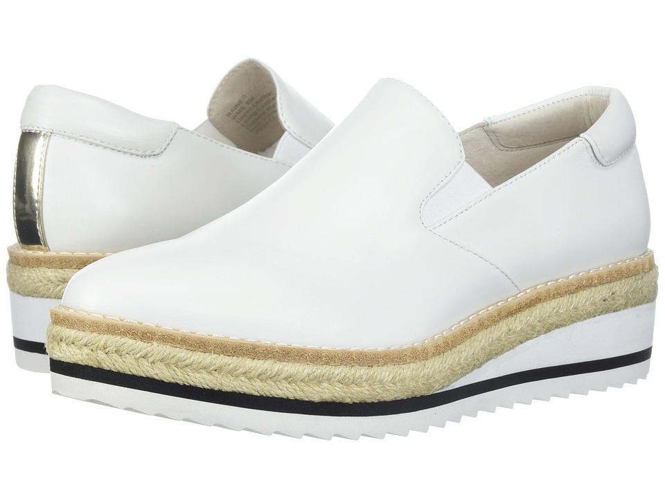Kenneth Cole New York - Rainer (White Leather) Womens Shoes