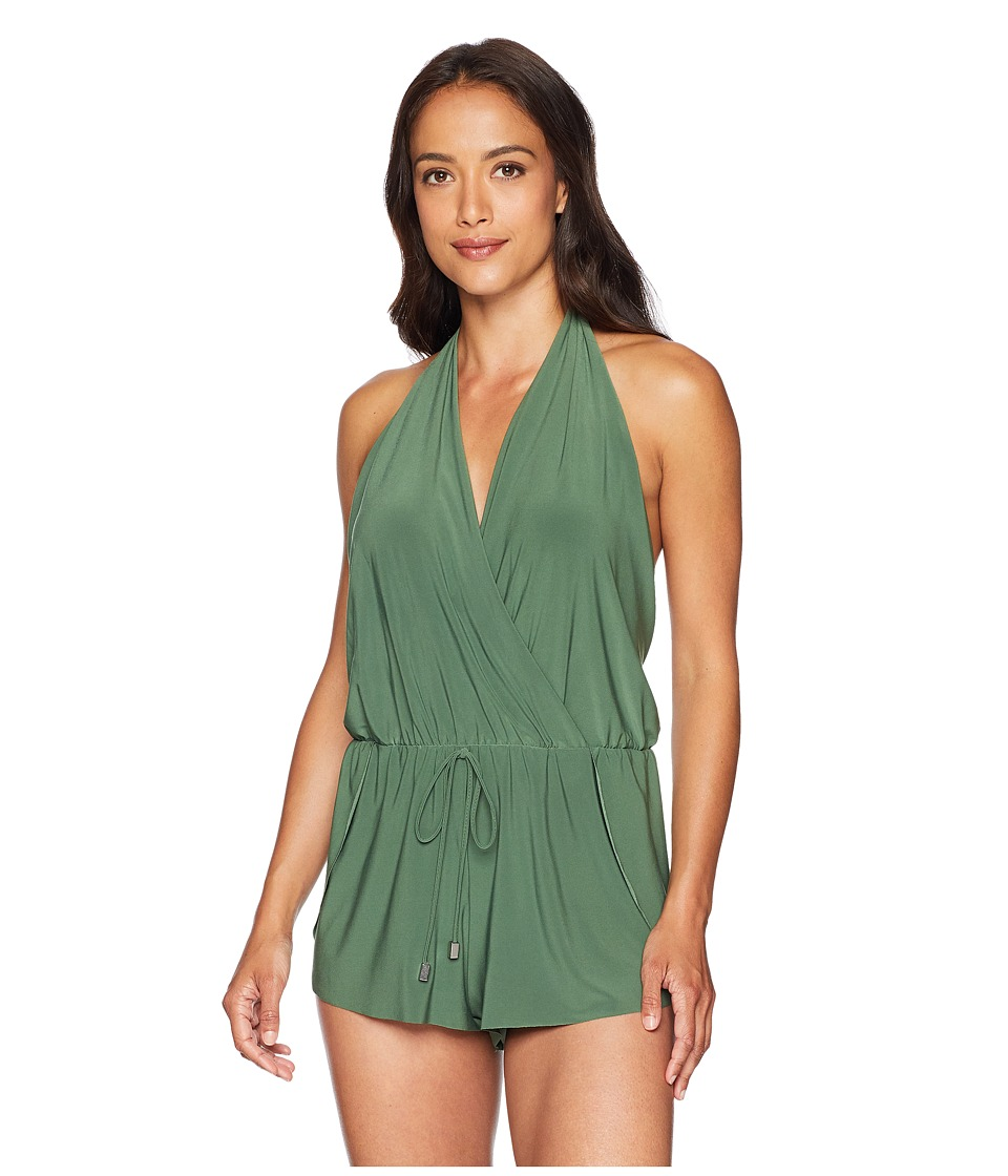Magicsuit - Solid Bianca One-Piece (Olive) Womens Swimsuits One Piece