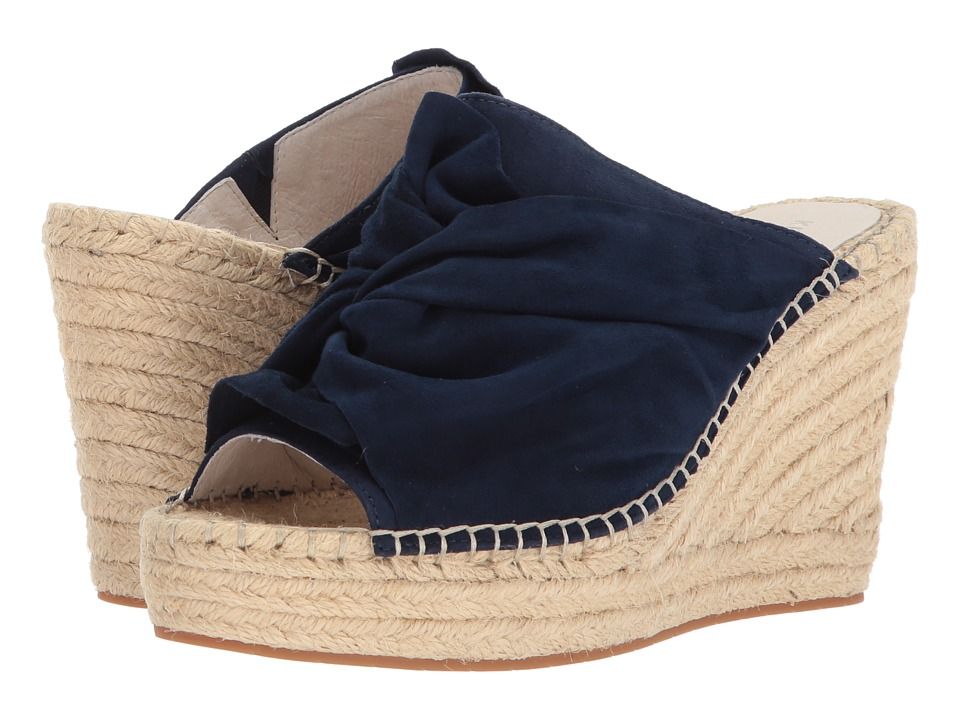 Kenneth Cole New York - Odele (Marine Suede) Womens Wedge Shoes