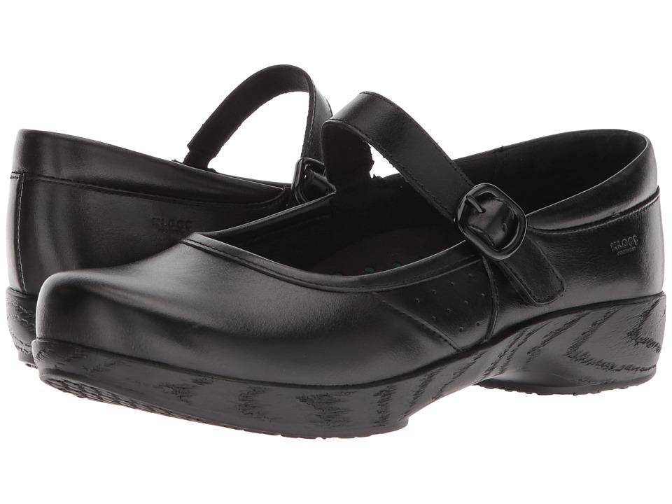Klogs Footwear Charleston (Black Tintoretto) Clogs