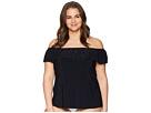 Magicsuit Plus Size Solid Kris Tankini Top