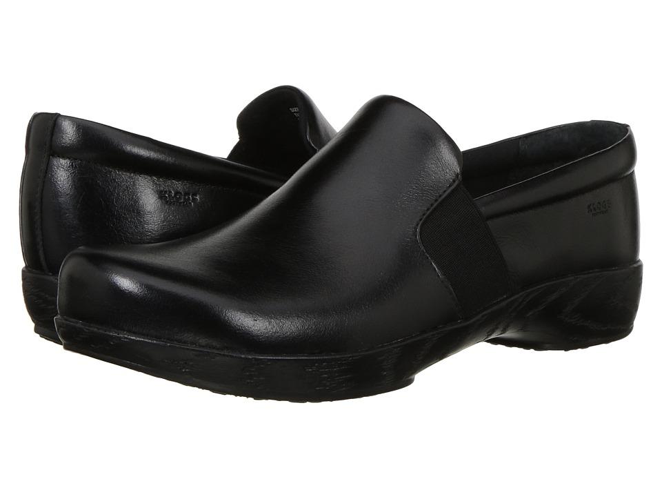Klogs Footwear Tucker (Black Tintoretto) Clogs