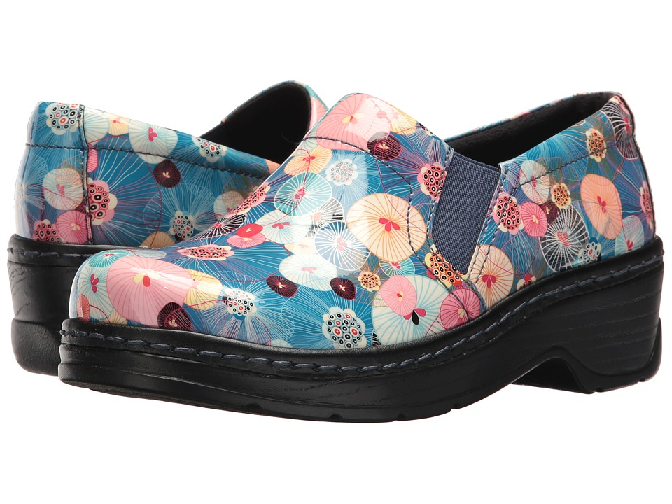 Klogs Footwear - Naples (Sea Whims Patent) Women's Clog Shoes