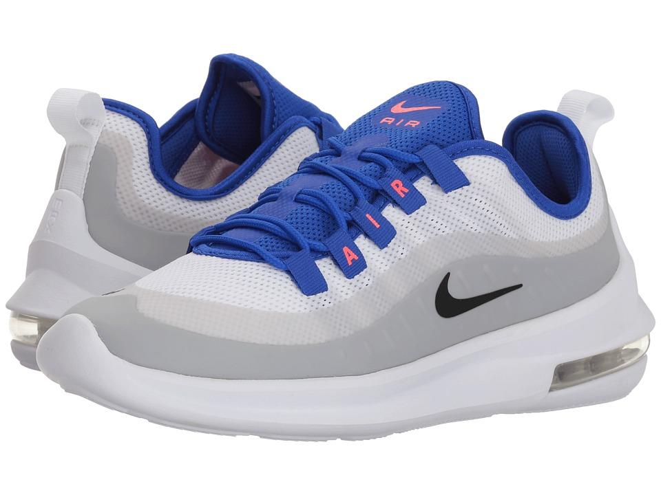 Nike Air Max Axis (White/Black/Racer Blue/Solar Red) Wome...