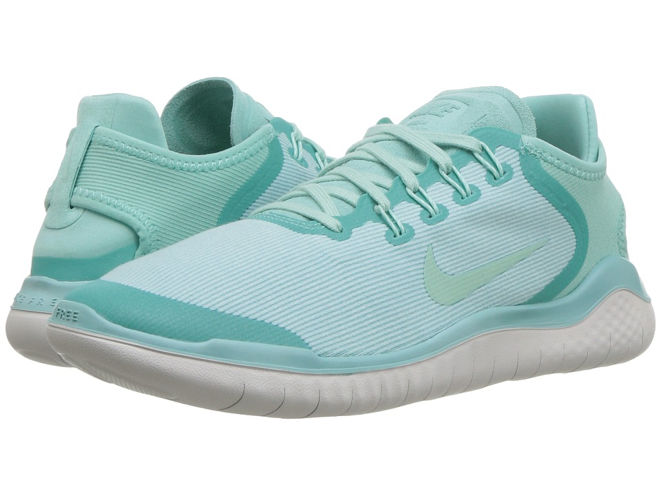 Nike Free RN 2018 (Island Green/Igloo/Vast Grey) Women's Running Shoes