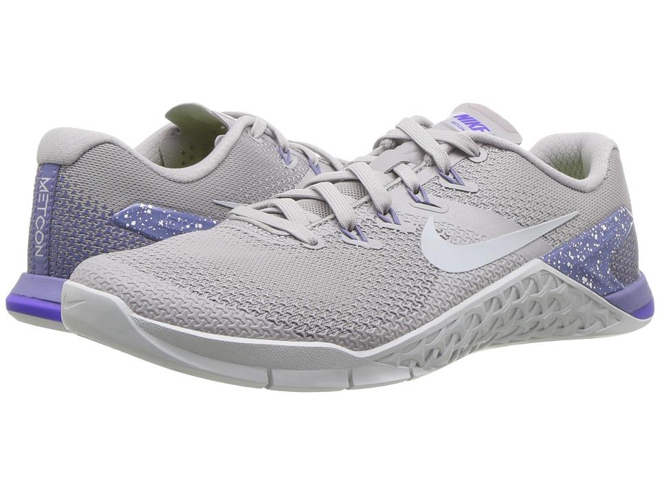 1c35ed548675 Nike - Metcon 4 (White-Metallic Silver-Rust Pink-Black) Womens Shoes ...
