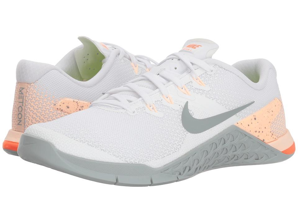 aefd3dad6b09 Nike - Metcon 4 (Black-Metallic Silver-White-Volt Glow) Womens Shoes ...