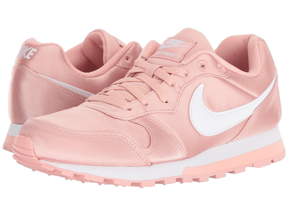 Nike - MD Runner 2 (Coral Stardust/White) Womens Classic Shoes