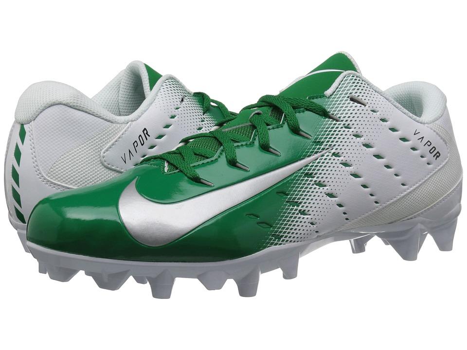 Nike Vapor Varsity 3 TD (White/Metallic Silver/Pine Green...