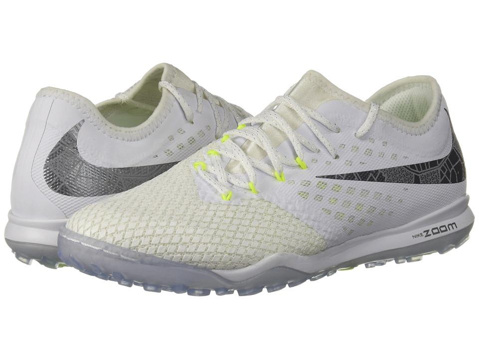 Nike Zoom PhantomX 3 Pro TF (White/Metallic Cool Grey/Vol...