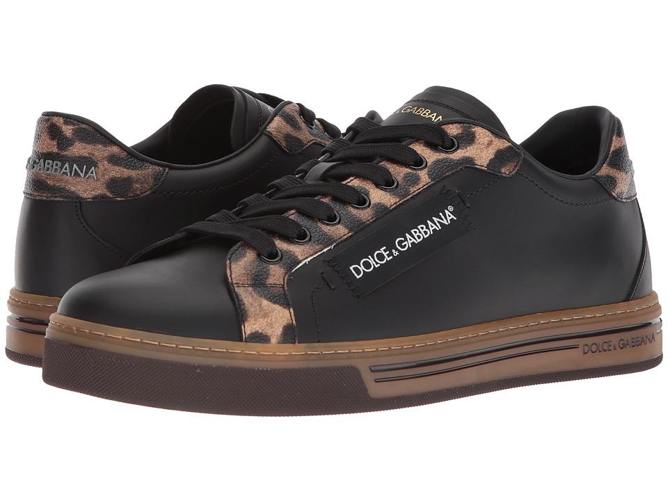 Dolce & Gabbana Leopard Sneaker (Black/Leopard) Men