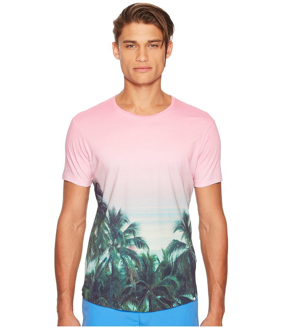 Orlebar Brown - Ob-T Photographic T-Shirt (Palms Aplenty) Mens T Shirt