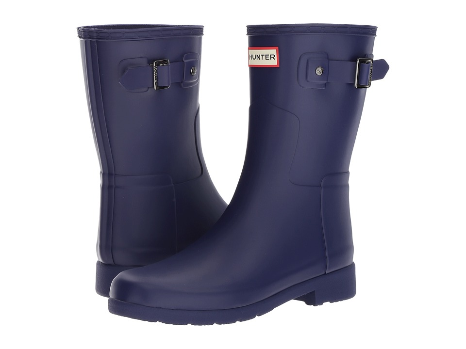 Hunter Original Refined Short Rain Boots (Neptune) Women