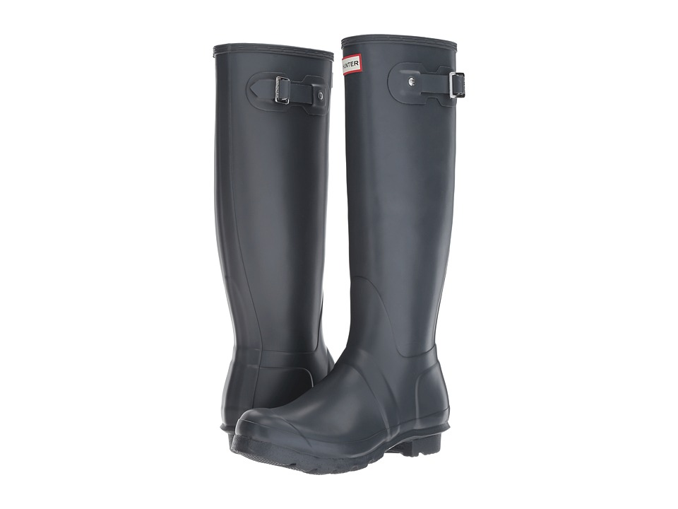 Hunter Original Tall Rain Boots (Dark Slate) Women