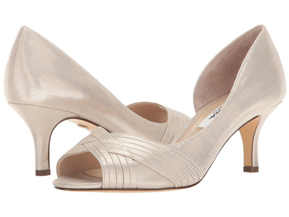 Nina Contesa (Platino Reflective Suedette) High Heels