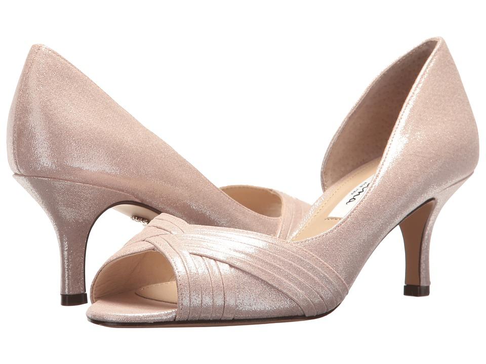 Nina Contesa (Bloom Reflective Suedette) High Heels