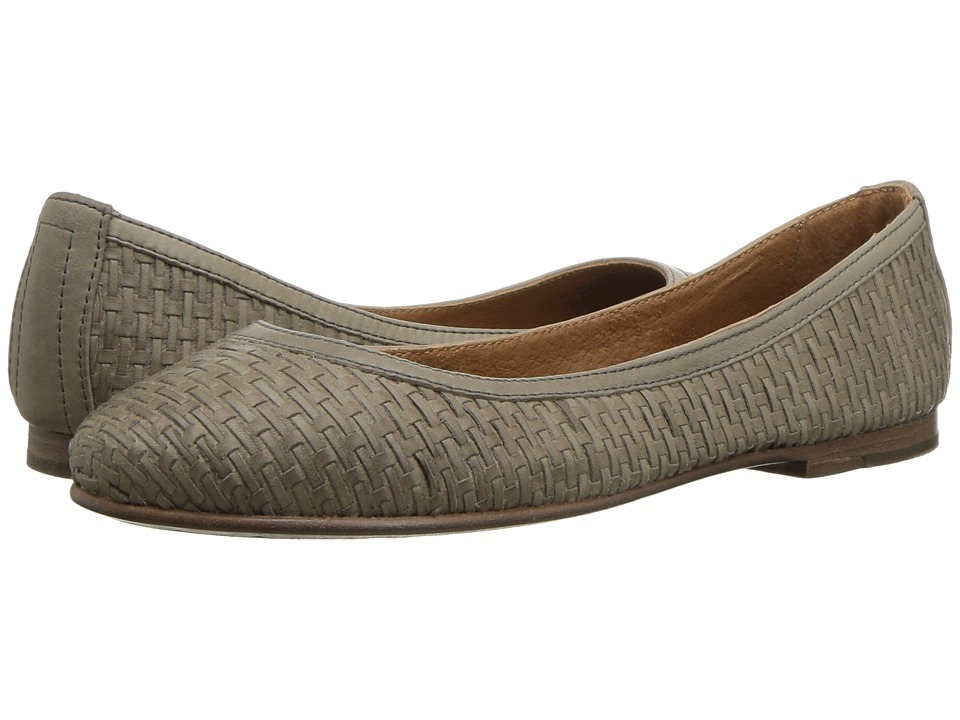 Frye Carson Woven Ballet (Grey) Women's Shoes