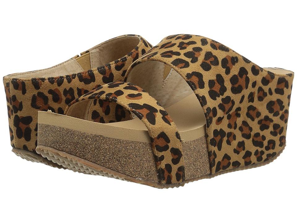 VOLATILE - Rafaella (Tan/Leopard) Women's Sandals
