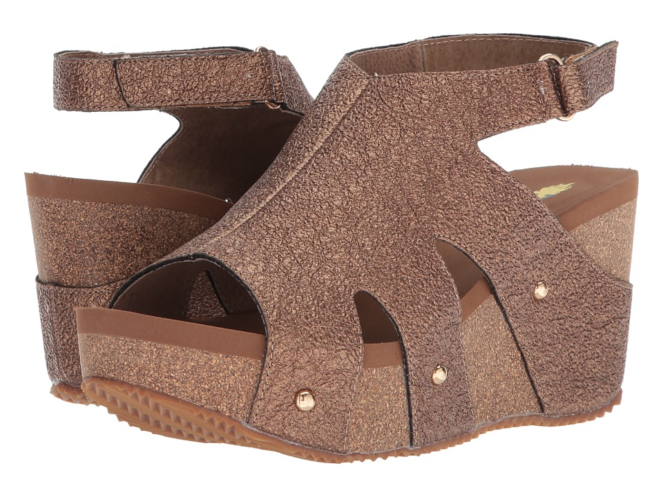 VOLATILE - Spindle (Copper) Womens Wedge Shoes