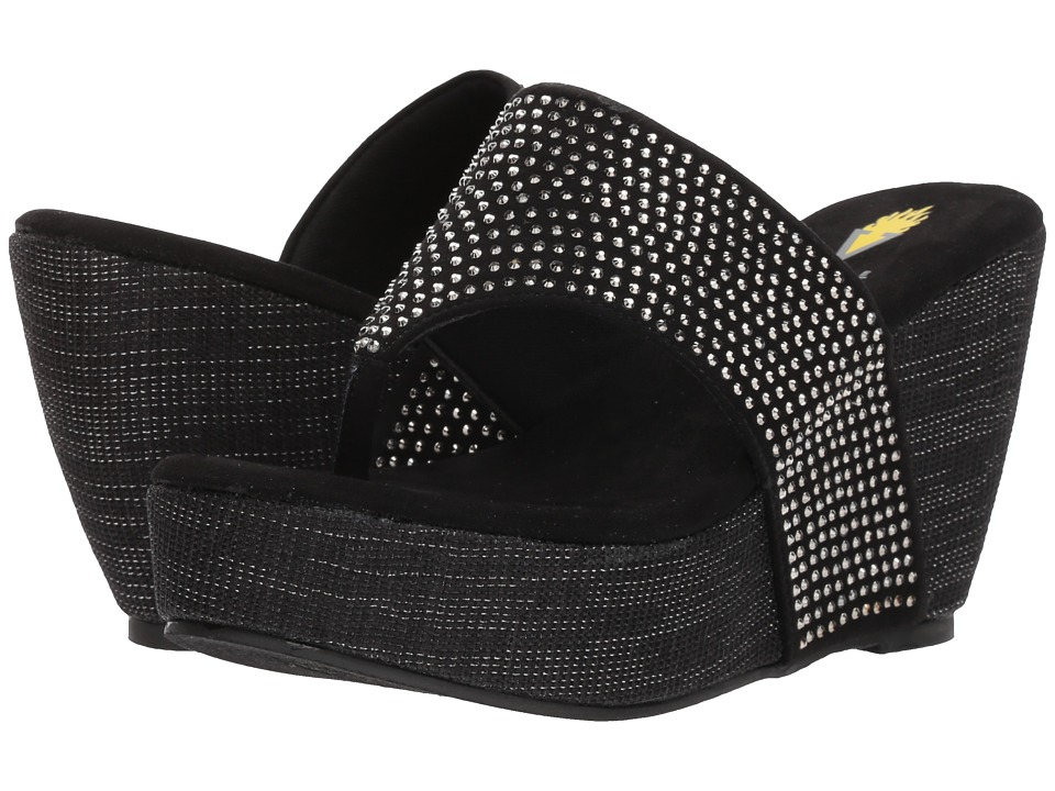 VOLATILE - Majestic (Black) Womens Wedge Shoes