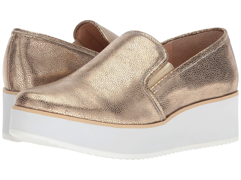 VOLATILE - Track (Gold) Womens Slip on  Shoes