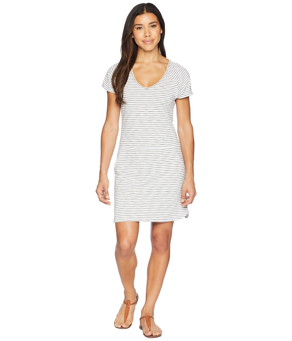 Lole - Energic Dress (White Stripe) Womens Dress