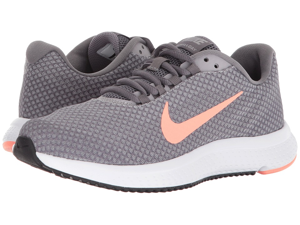 Nike RunAllDay (Gunsmoke/Crimson Pulse/Atmosphere Grey) Women's Running Shoes