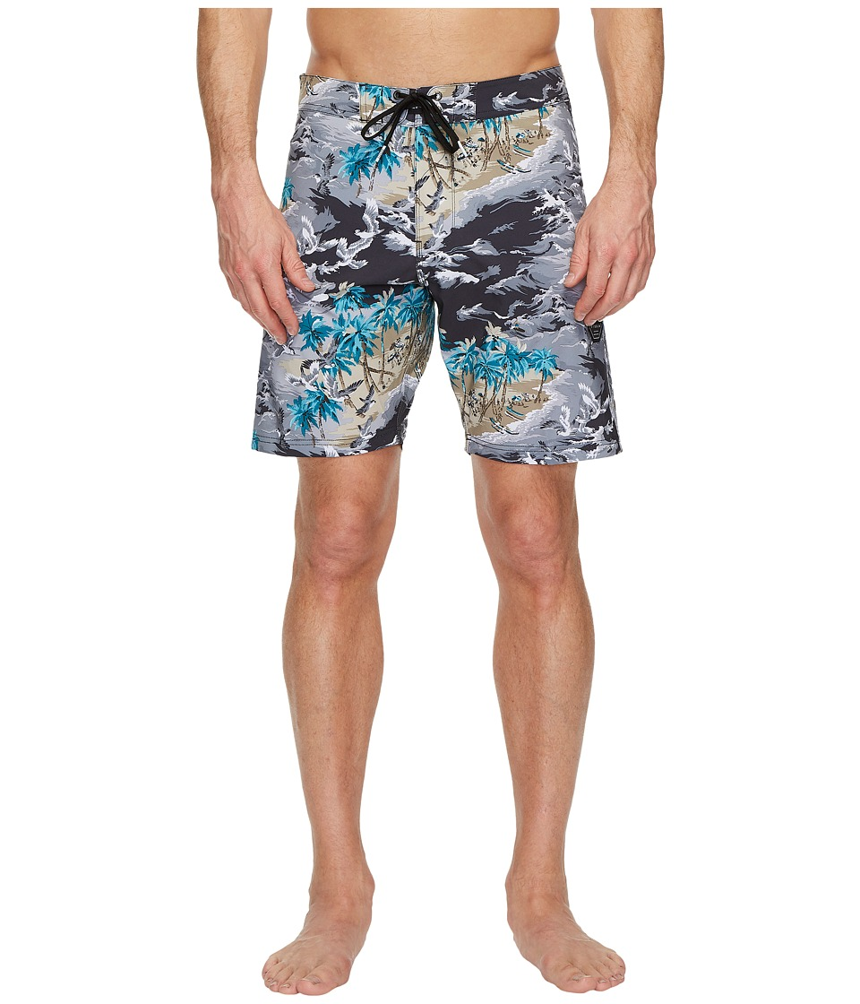 VISSLA Islander Four-Way Stretch Boardshorts 18.5 (Phantom) Men