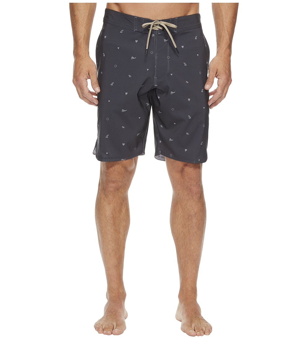 VISSLA Stoked Four-Way Stretch Boardshorts 18.5 (Phantom) Men