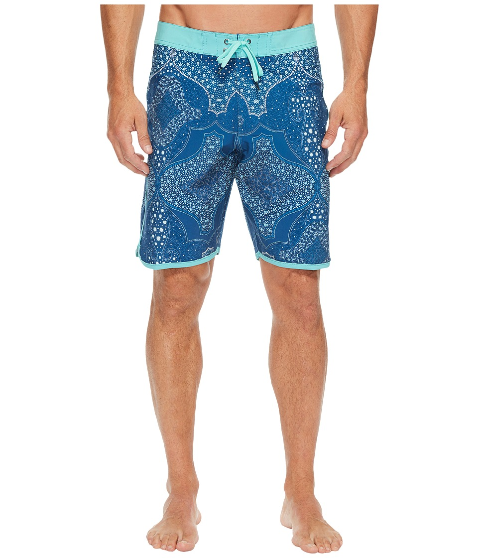 VISSLA Bohemia Coast Four-Way Stretch Boardshorts 20 (Bright Blue) Men