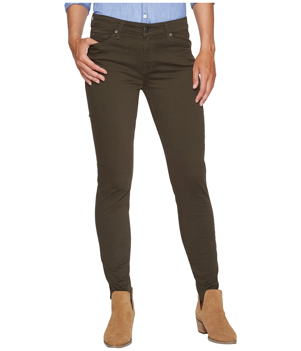 Agave Denim - Harlowe Twill Skinny Fit in Forest Night