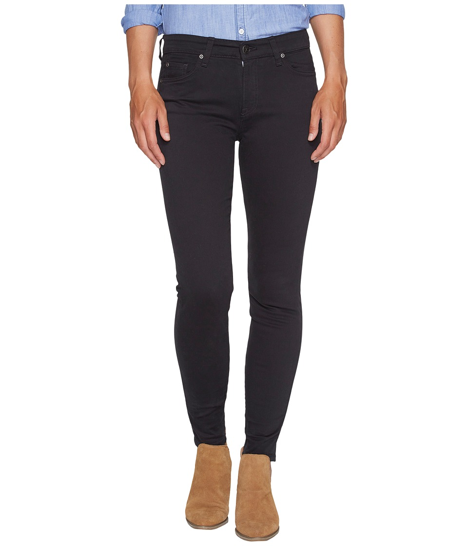 Agave Denim - Harlowe Twill Skinny Fit in Stretch Limo
