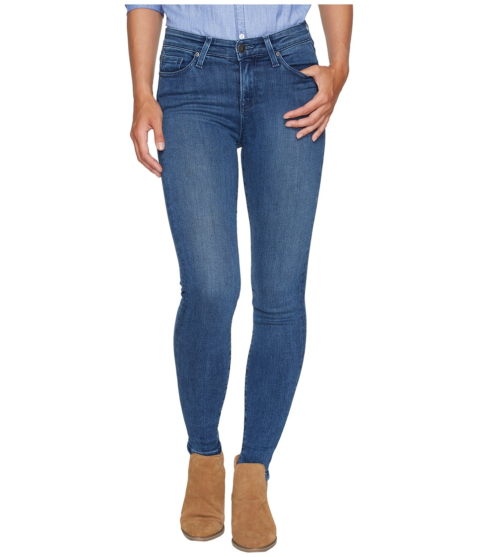 Agave Denim - Stanton Fade Skinny Fit in Medium Fade (Medium Fade) Women's Jeans