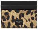 Dolce & Gabbana Leopard Card Holder