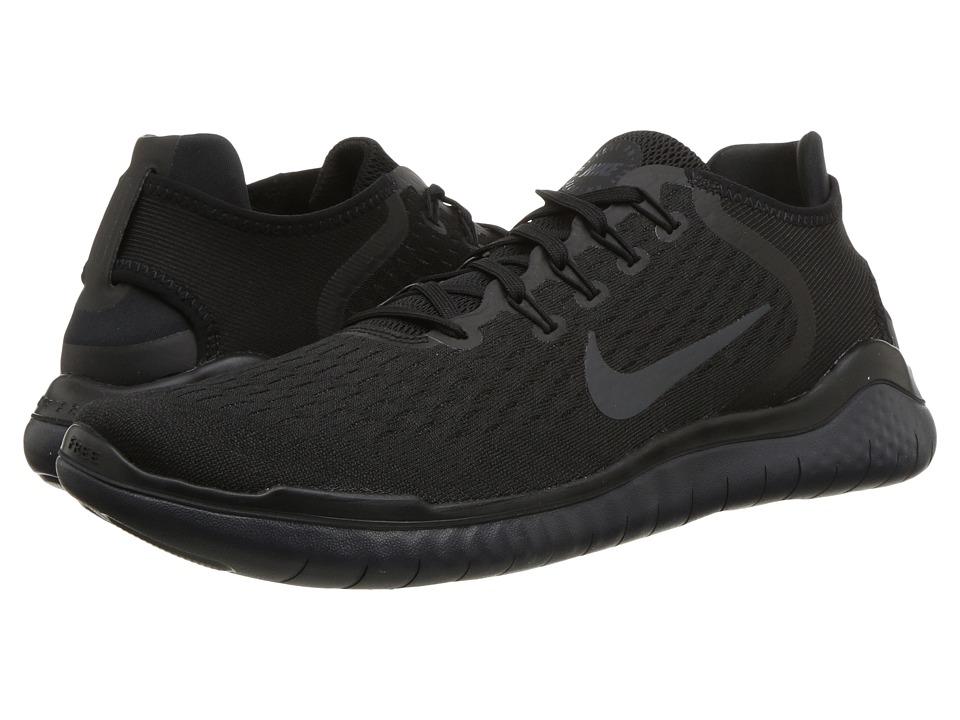 Nike Free RN 2018 (Black/Anthracite) Men's Running Shoes