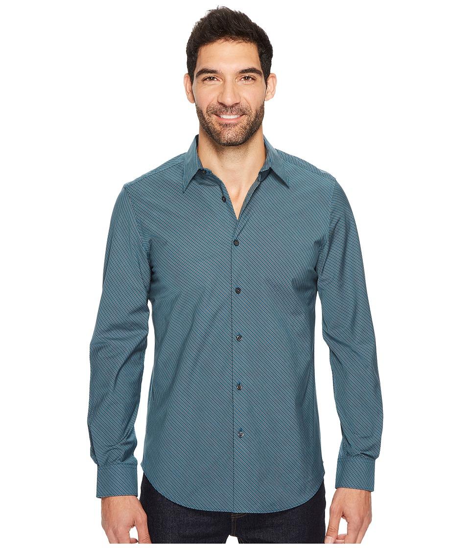 Perry Ellis - Long Sleeve Stripe Shirt