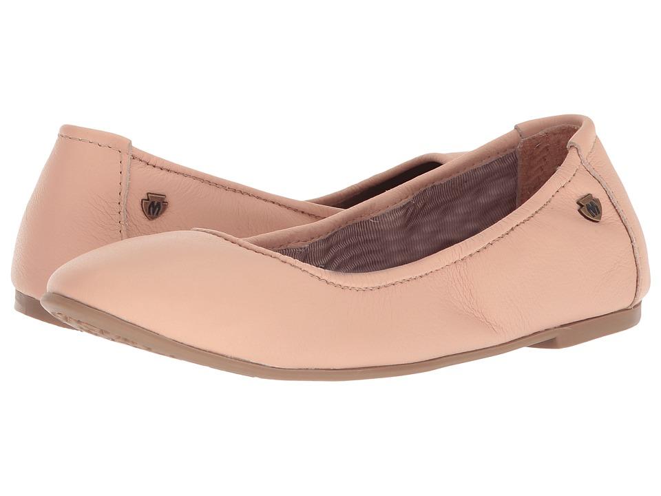 Minnetonka Anna (Blush Leather) Flats