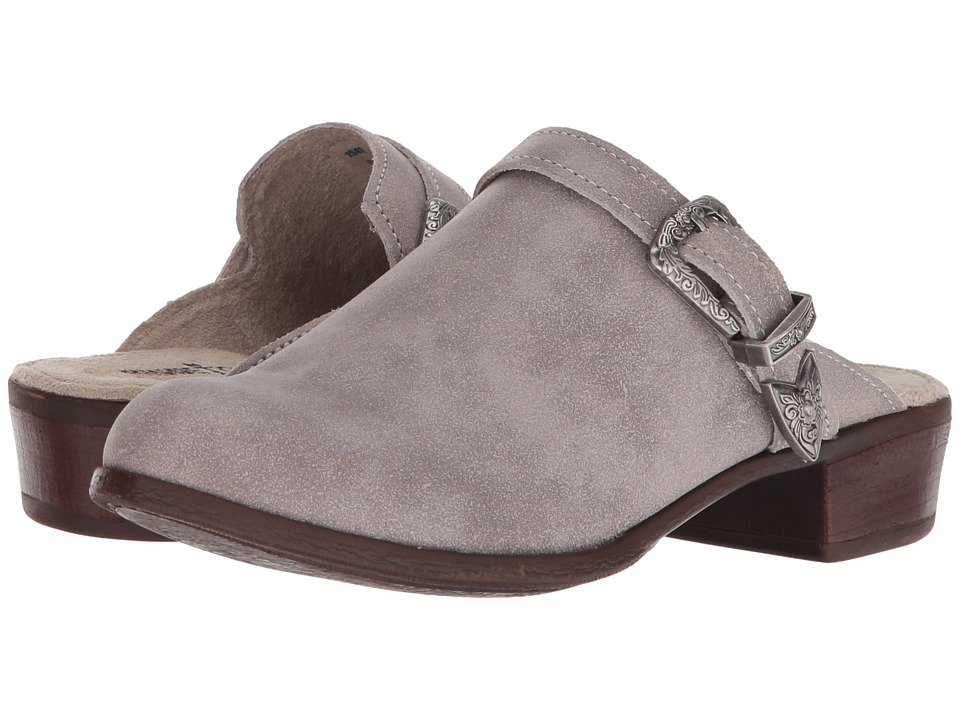 Minnetonka Billie (Marbled Grey Leather) Slip-On Shoes