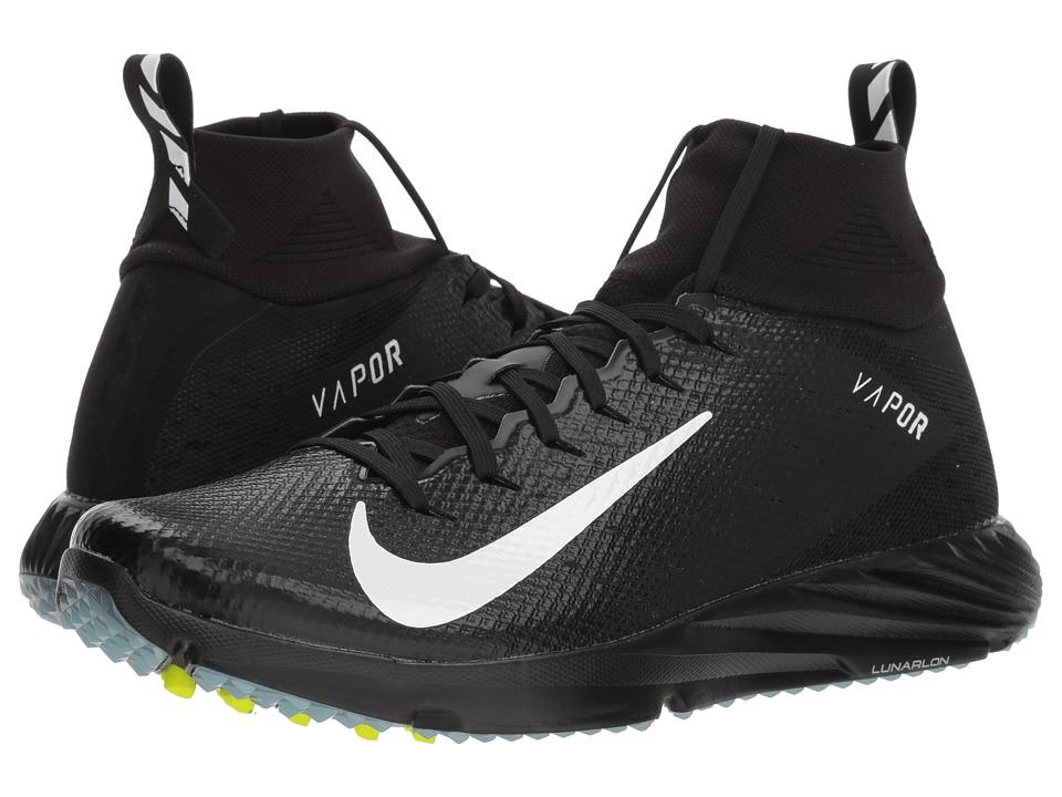 Nike Vapor Speed Turf 2 (Black/White/Black/Black) Men's C...