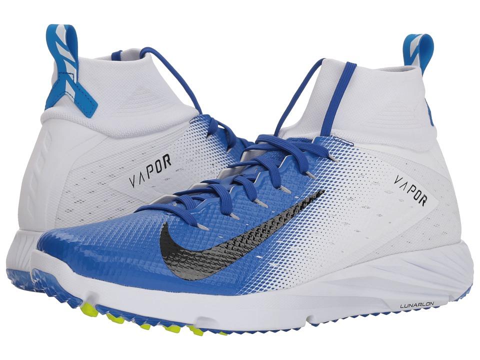 Nike Vapor Speed Turf 2 (White/Black/Game Royal/Photo Blu...