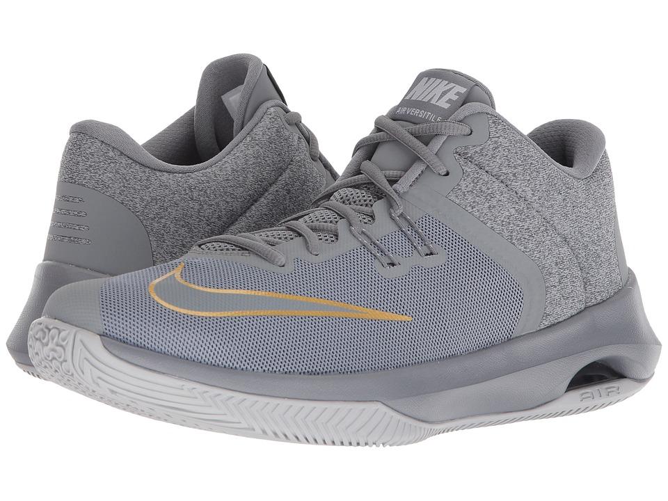 Nike Air Versitile II (Cool Grey/Cool Grey/Metallic Gold)...