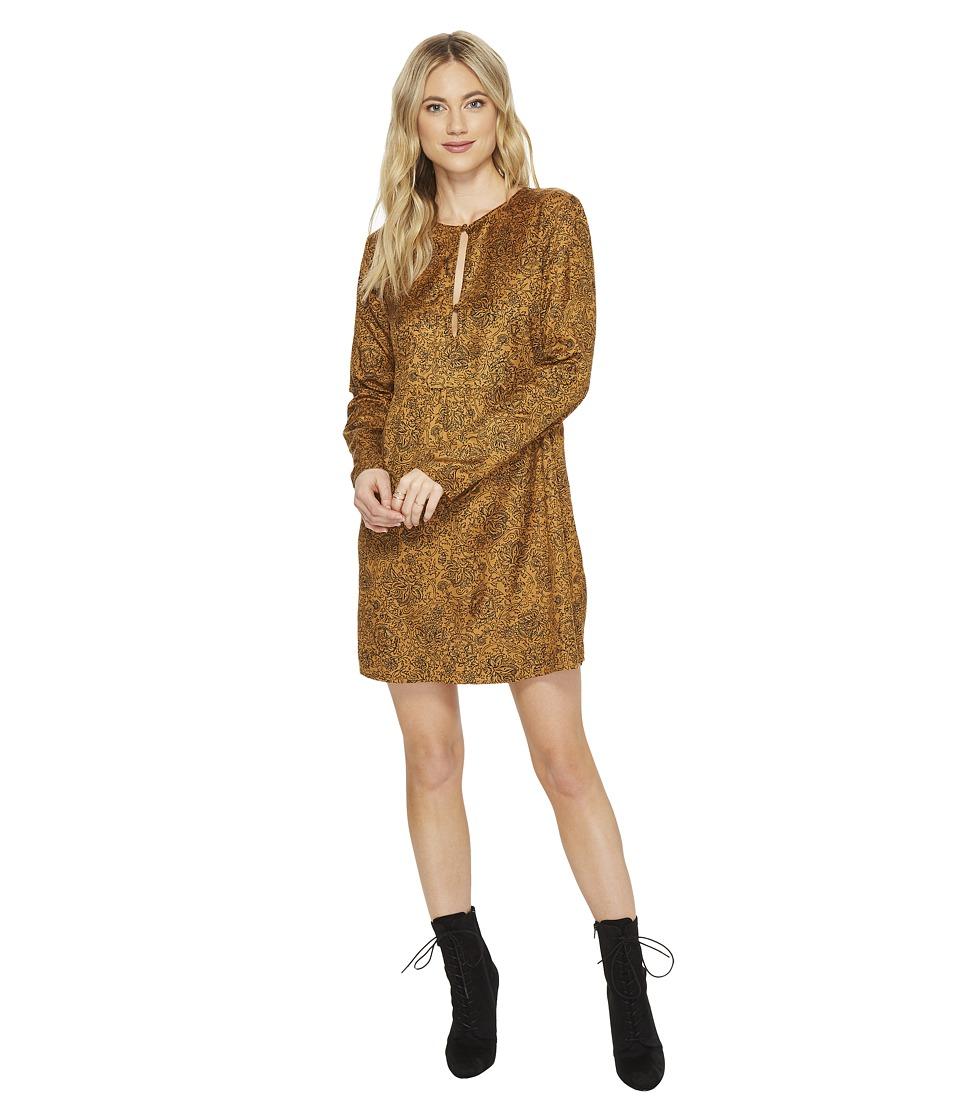 Amuse Society Katalina Dress (Gold) Women