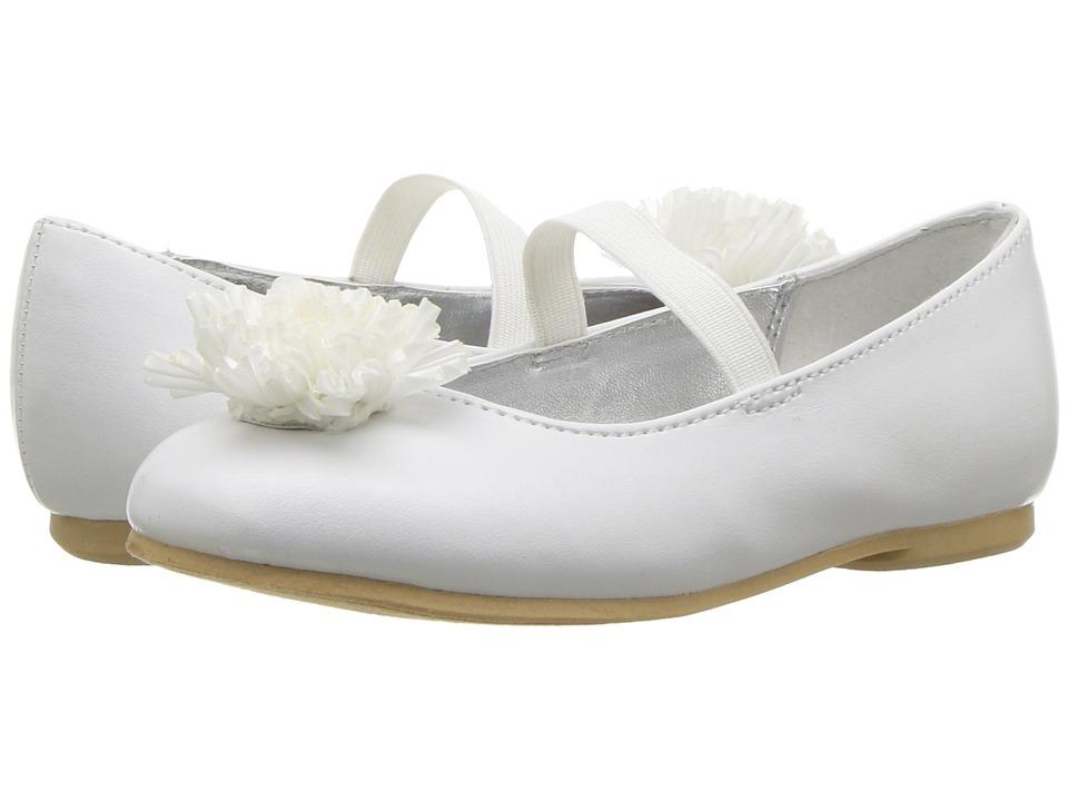 Nina Kids - Jemma-T (Toddler/Little Kid) (White) Girls Shoes