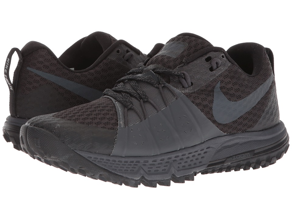 Nike Air Zoom Wildhorse 4 (Black/Anthracite/Anthracite) Women's Running Shoes