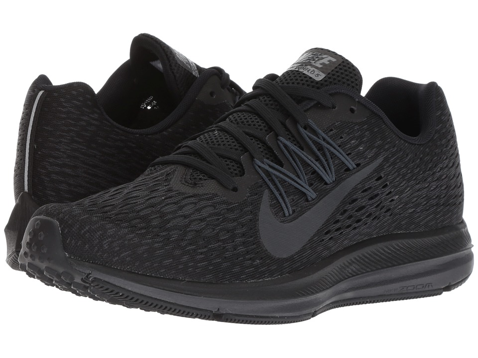 Nike Air Zoom Winflo 5 (Black/Anthracite) Women's Running Shoes