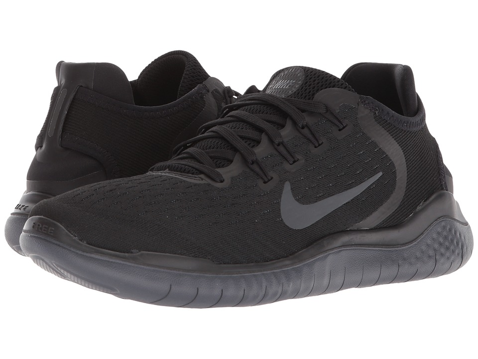 Nike Free RN 2018 (Black/Anthracite) Women's Running Shoes
