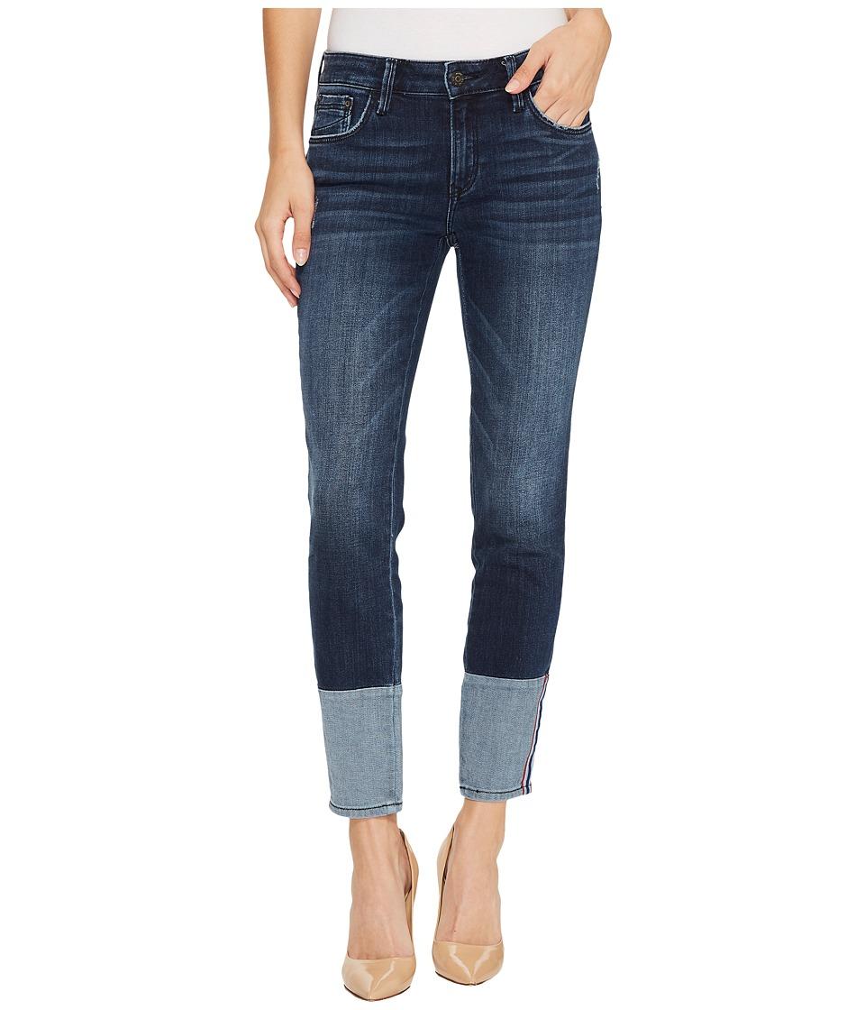 Mavi Jeans Caisey Mid-Rise Skinny Ankle Jeans in Dark Vintage (Dark Vintage) Women